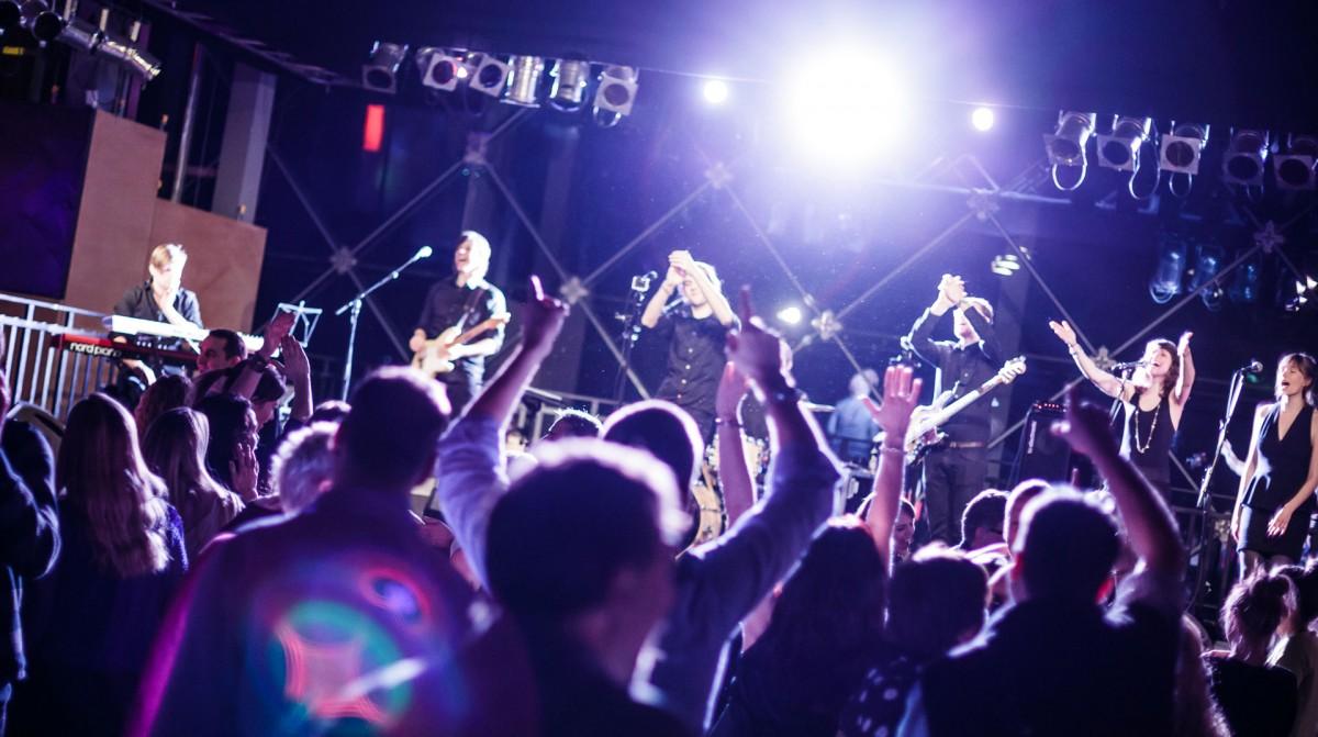 morphar & the Ladykillers spiller live for novo nordisk i dr koncerthuset som partyband til en fest